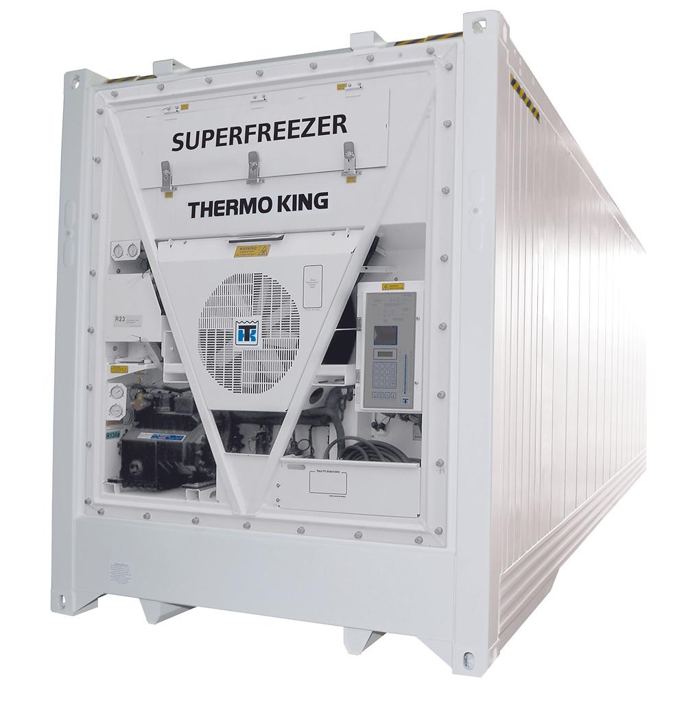 Thermo King Super-Freezer, te koop bij ContainerID Antwerpen Antwerpen