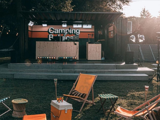 ContainerID Shippingcontainers at Camping Belgica