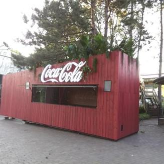 Coca Cola Container bar