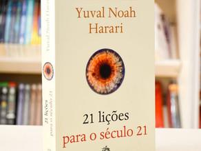 Excelente reflexão: 21 lições de Yuval Harari!