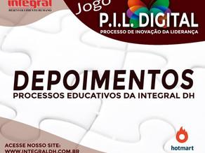DEPOIMENTOS DE PARTICIPANTES DOS PROCESSOS EDUCATIVOS DA INTEGRAL.
