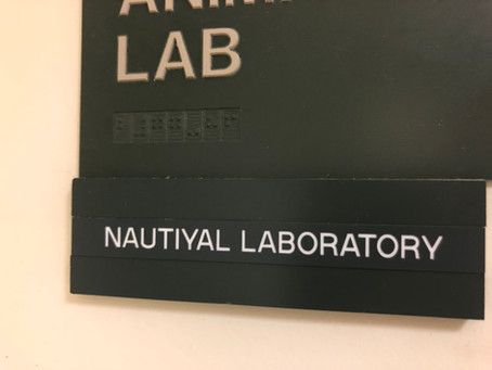 Nautiyal Lab is OPEN for business!