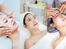 Facial massage ยกกระชับออกกำลังกายผิวหน้าให้ดูสดใส