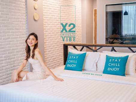X2 Vibe Chiang Mai Decem ที่พักราคาไม่แพงใกล้นิมมาน
