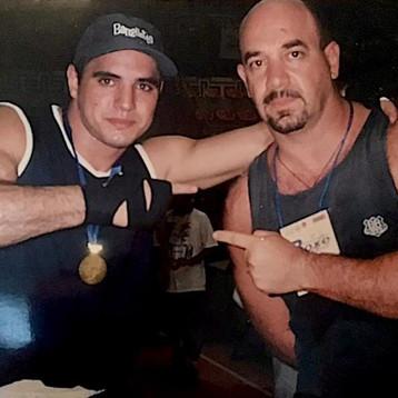 Campeão Brasileiro de Boxe Pedro Otas e Carlos Pisano