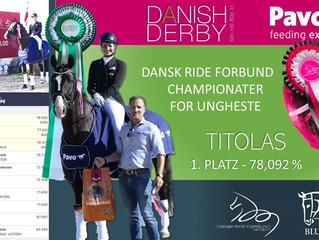 🏆 DÄNISCHES DERBY - Erneuter S SIEG für TITOLAS mit 78,092% bei der Qualifikation zum dänische Bun