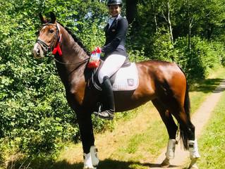 🏆 Fiora belegt Platz 5 in der Dressurpferde A🏆