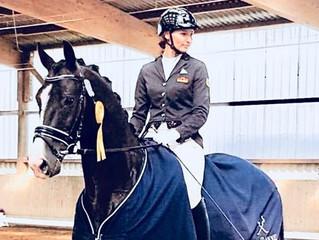 Generalprobe für Warendorf -            Titolas gewinnt die Dressurpferde M mit 8,1