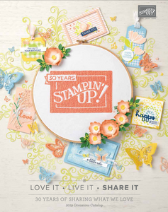 Occasions 2019 Stampin' Up Catalog