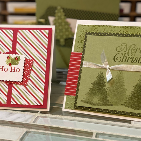 Handmade Christmas Cards this Year?