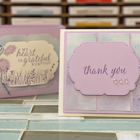 Gift Box and Thank You Cards