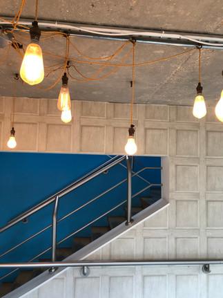 Lightbulb entryway