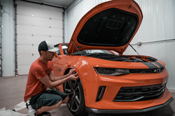 3M Paint Protection Camaro