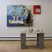'Spring Cleaning' at Avalanche! - 2016  Group exhibition with: Sylvain Beaudry, Karly Mortimer + Jeremy Pavka, Lindsay Wells