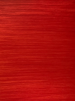 red finish