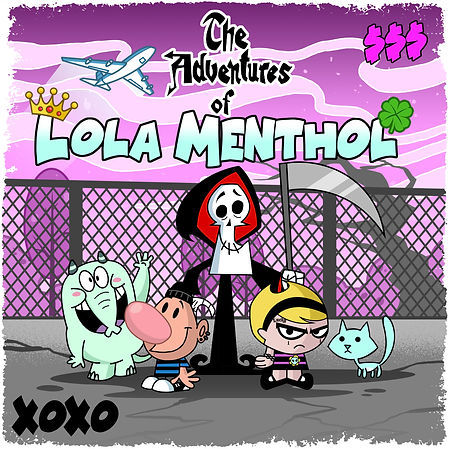 The Adventure of Lola Menthol Cover Fina