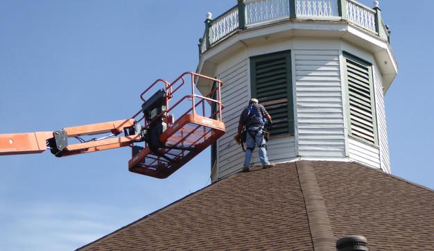 Cupola Being Painted.JPG