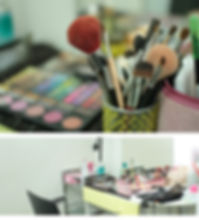上野の写真スタジオMe-CeLL メイクルーム