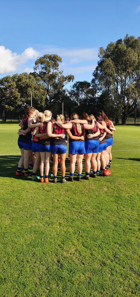 Pink Panthers in runaway win against Hawthorn AFC : 6:12:48 to 1:1:7