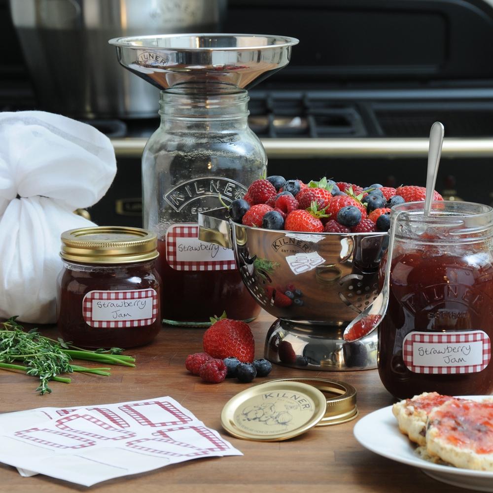 Preserving Jars, Bottles & Labels