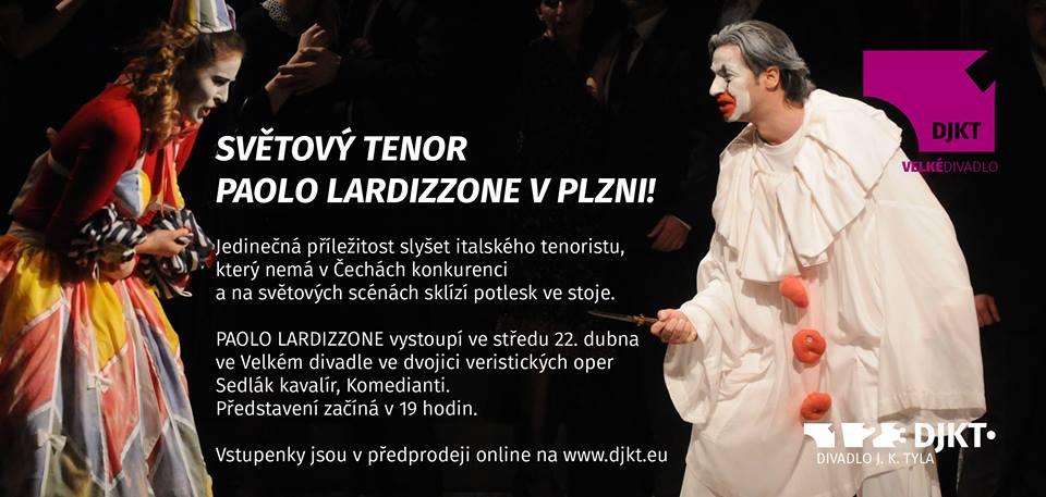 Il tenore mondiale P. L. a Plzeň