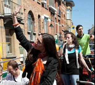 Laurence Lo Presti chant campagne électo
