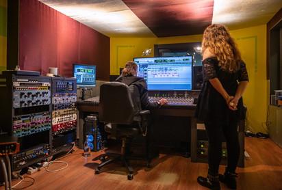 Laurence Lo Presti en studio