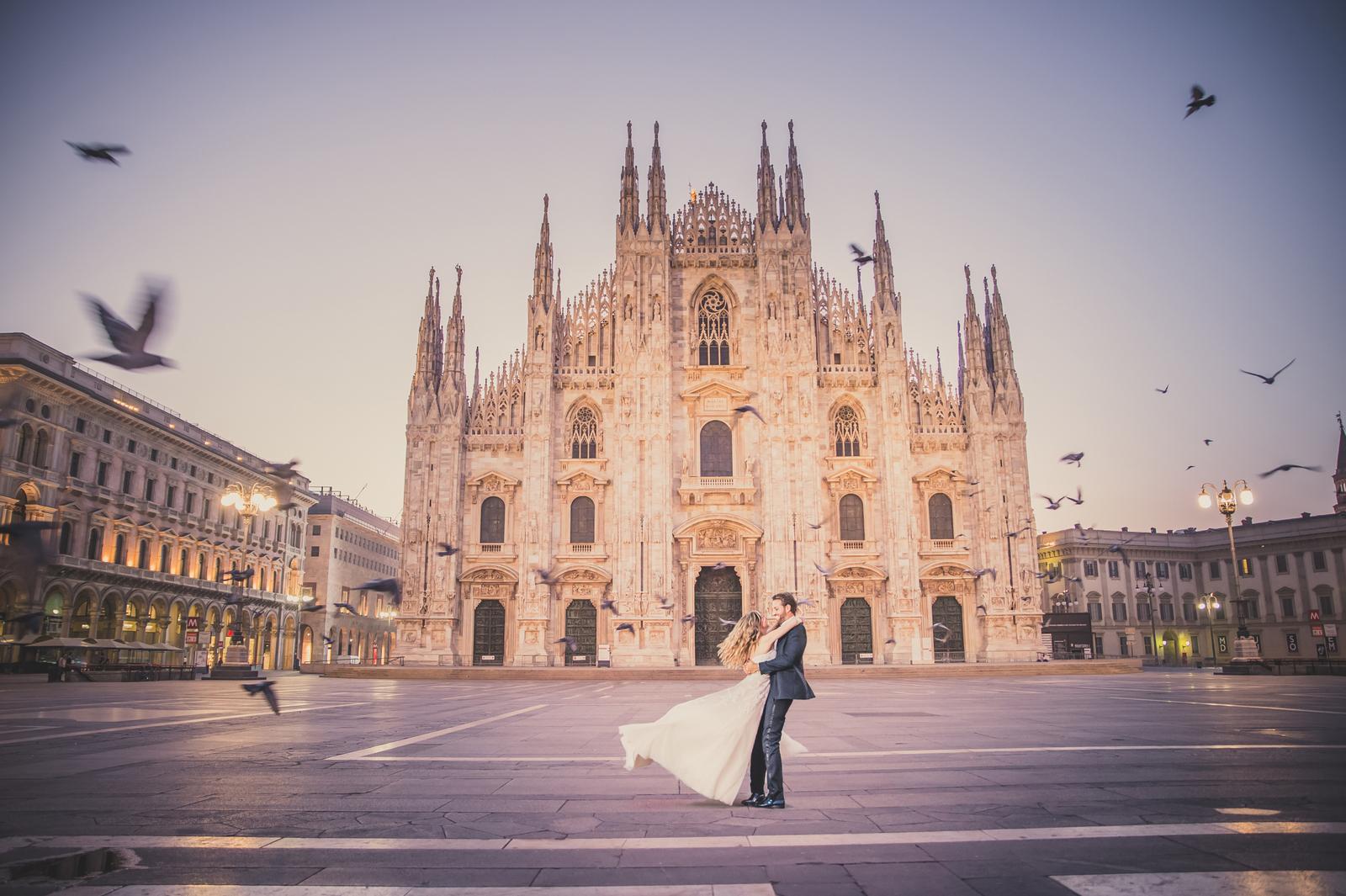 Wedding in Milan