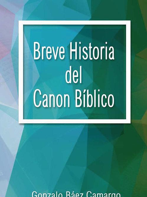 Breve historia del canon Bíblico