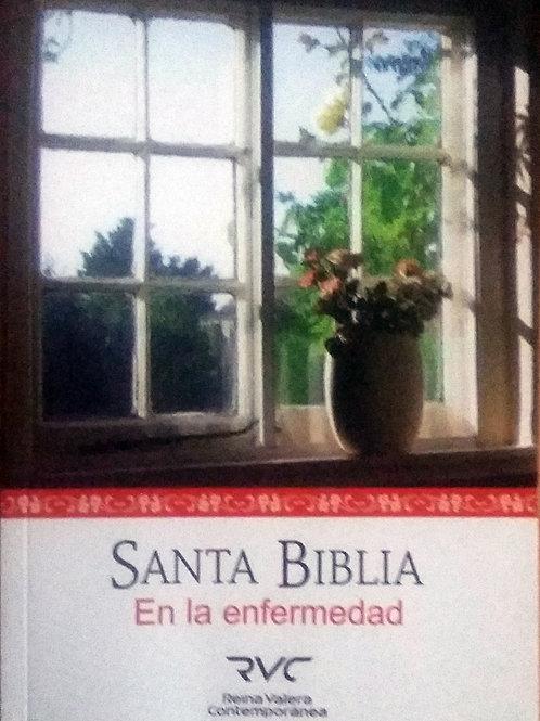 Santa Biblia en la enfermedad