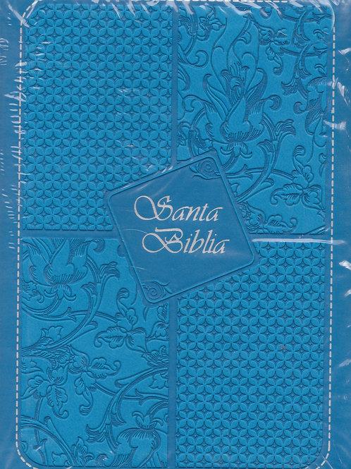 Santa Biblia azul