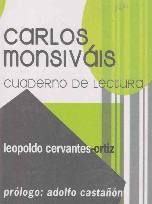 Carlos Monsiváis cuaderno de lectura