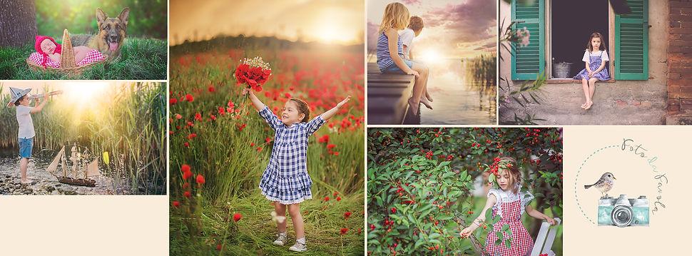 sessioni fotografiche famiglie e bambini