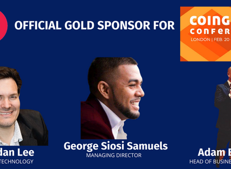 Faiā supports CoinGeek Conference London 2020 as Gold Sponsor