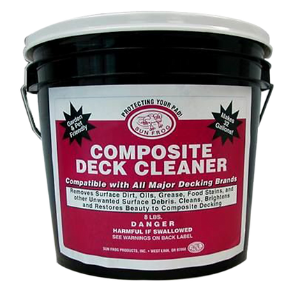 One Gallon Size Composite Deck Cleaner