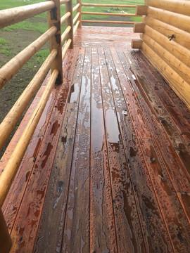 Montana Mountain Deck