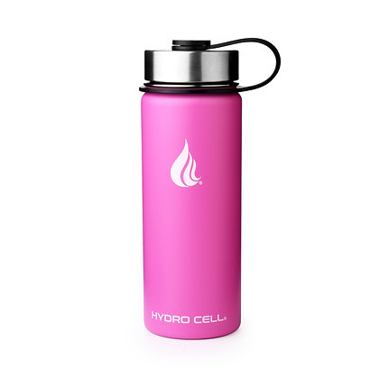Hydro Cell Wide Mouth 18oz Rosado