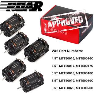 VX2 Modified motors ROAR approved!
