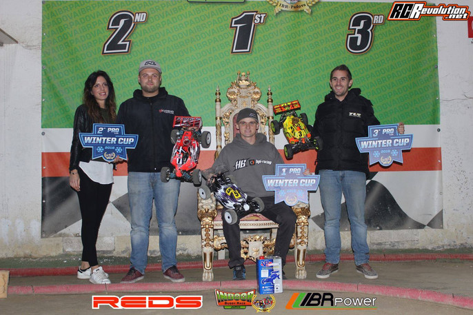 Boots 2nd at Winter Cup Race