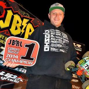 Cody King 2014 JBRL Expert Buggy Champion!