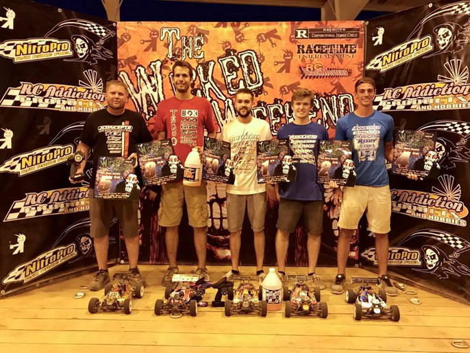 Cole Ogden TQ&Win at the Wicked Weekend