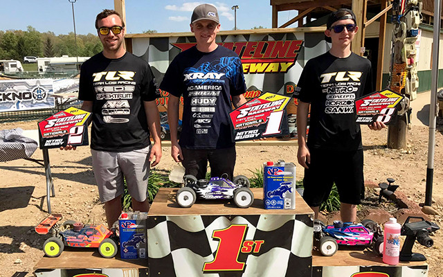 Phend 2nd at Stateline R/C race!