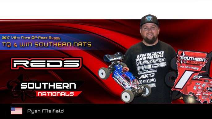 Maifield TQ&Win at the Southern Nats!