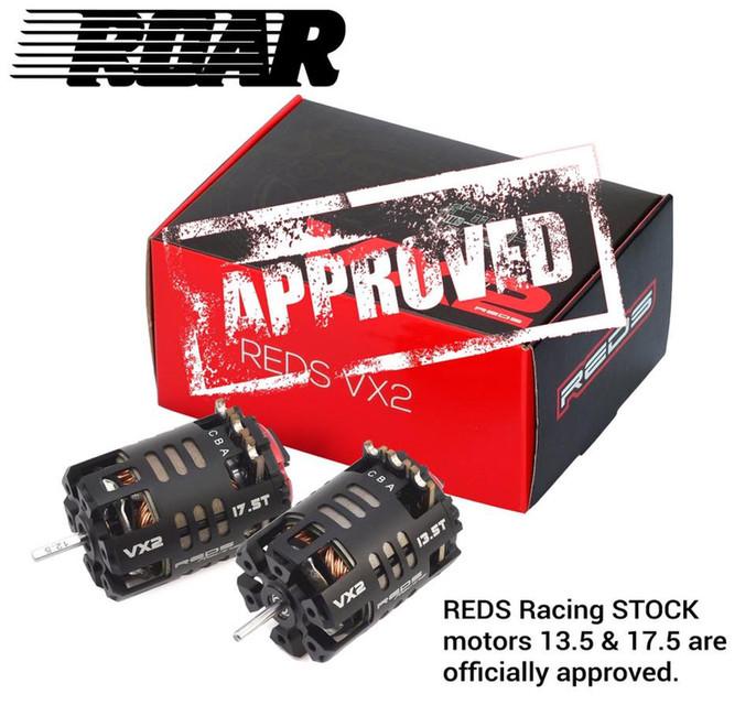 13.5T & 17.5T VX2  ROAR approved!