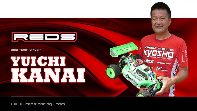 Yuchi Kanai continues with Reds Racing