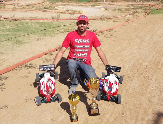 Yaniv Sivan Israeli buggy champion.