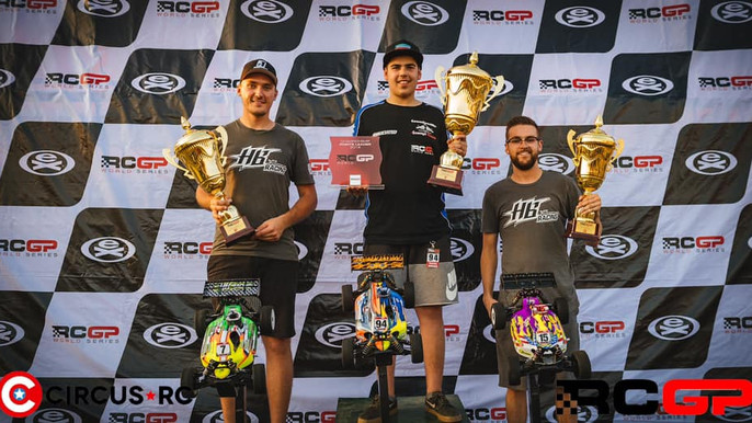 Reds 2nd&3rd at RC GP