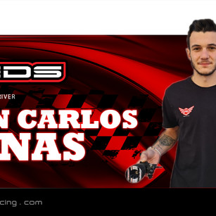 Canas conitunes with Reds Racing!