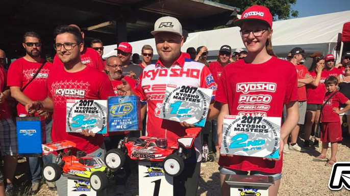 Elliott Boots doubles at 2017 Kyosho Masters!