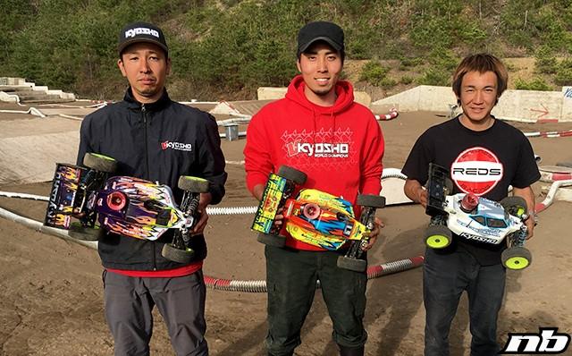 Wataru Takashiro TQ's & wins at Off Power Cup